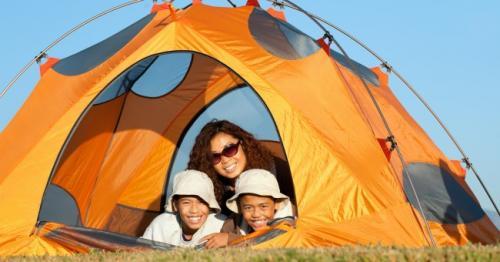 Camping para los niños