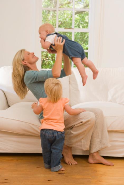Madres insinuando a hijo