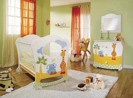 Colores para cuartos de bebés