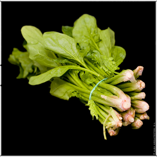 Combatir la diabetes con verduras de hojas verdes