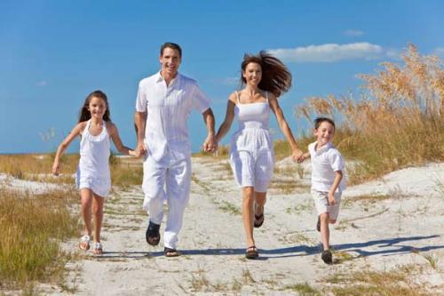 Cómo ser una familia feliz