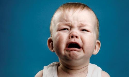 Cuando nuestro hijo se queda sin respiración a llorar