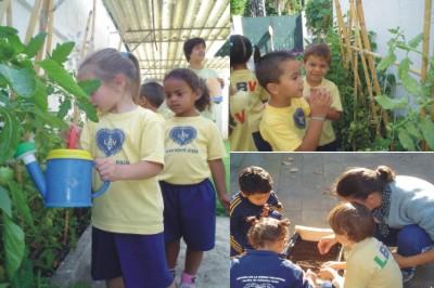 Cuidado ambiental y los niños