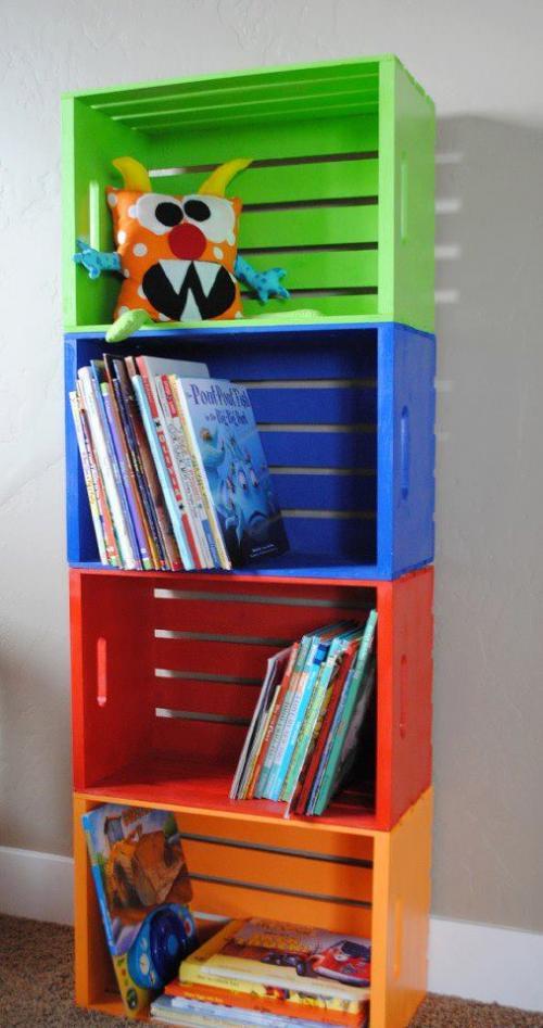 Diseño de bibliotecas para niños