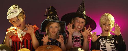 Disfraces de Halloween para toda la familia