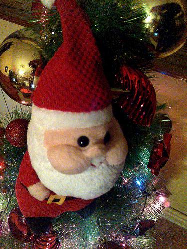 Disfraz casero de Papá Noel