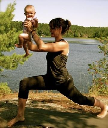 Ejercicios simples y fáciles para madres