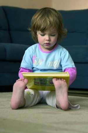 El hábito de leer inculcado en los bebés