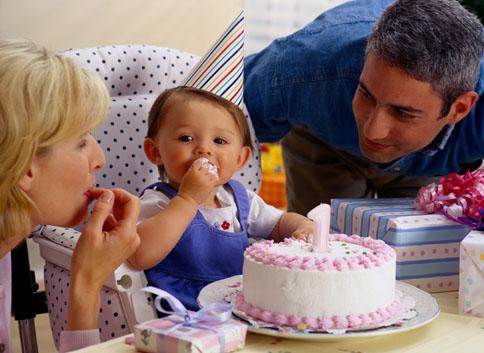 El primer año del bebé y su celebración