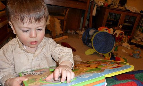 Enseña a tus niños hábitos de lectura