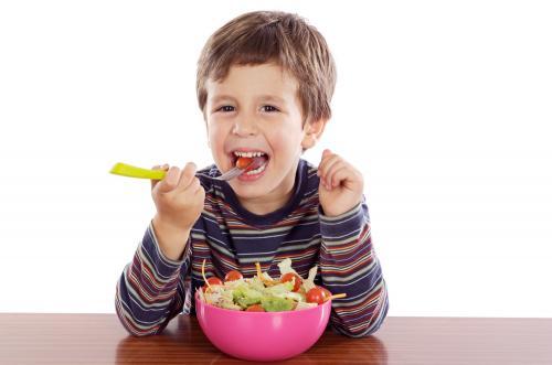 Estimulantes alimentarios para los niños