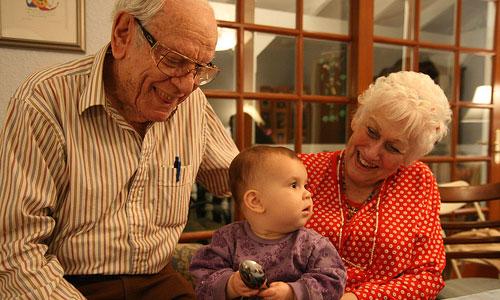 Formas de relacionarse adecuadamente con los nietos
