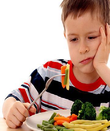 Implementa las verduras y frutas en la dieta de tu hijo