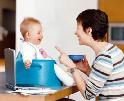 Las diferentes etapas del habla del  bebé