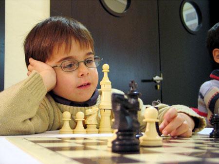 Los niños y el ajedrez