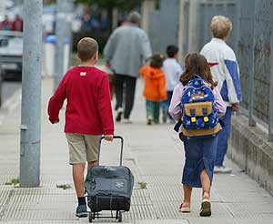 Los niños y el colegio