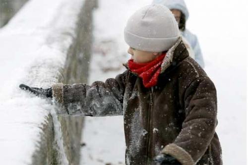 Los niños y el frío