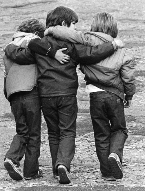 Los niños y la amistad