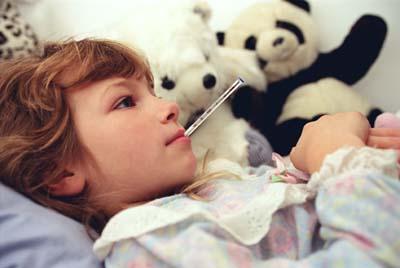 Los niños y la gripe