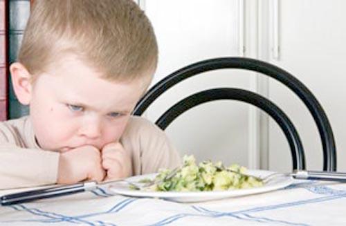 Mi hijo solo come un alimento