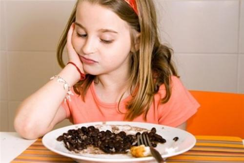Niños con trastornos alimenticios