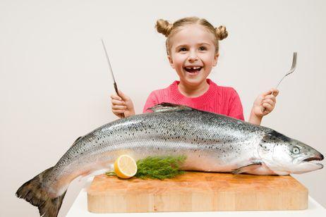 Platos de pescado para niños preparados en veinte minutos