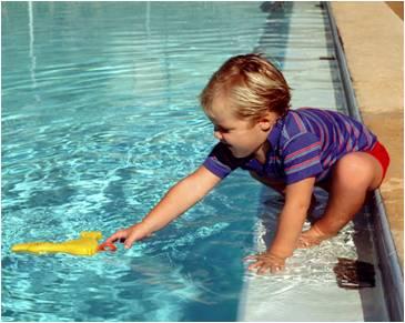 Seguridad de los niños en el agua