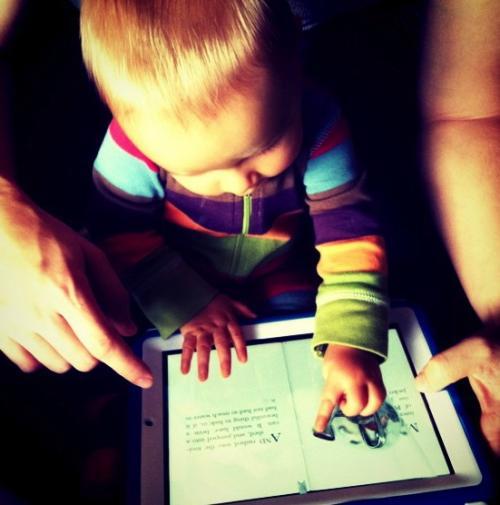 Tecnología vs. educación de bebés